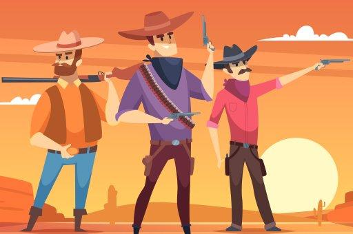 بازی آنلاین تیراندازی Wild West Shooting