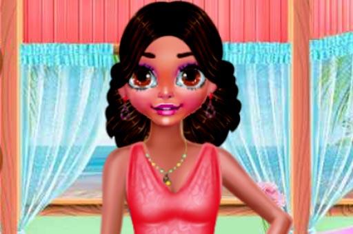 بازی آنلاین دخترانه جدید BEACH BACK SPA SALON