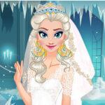 بازی آنلاین دخترانه لباس عروسی Ice Queen Wedding Planner
