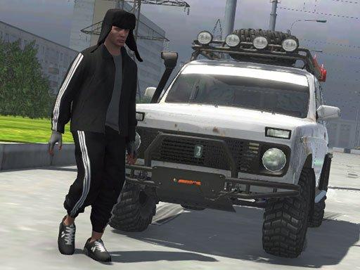 بازی آنلاین رانندگی Russian Taz Driving 3