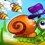 بازی آنلاین سرگرم کننده Super Snail Jungle Adventure