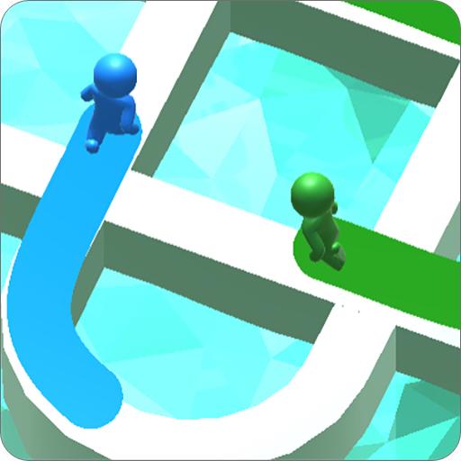 بازی دویدن رنگ ها سه بعدی آنلاین اندروید