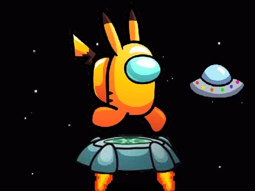 بازی آنلاین جدید Among Them Space Run