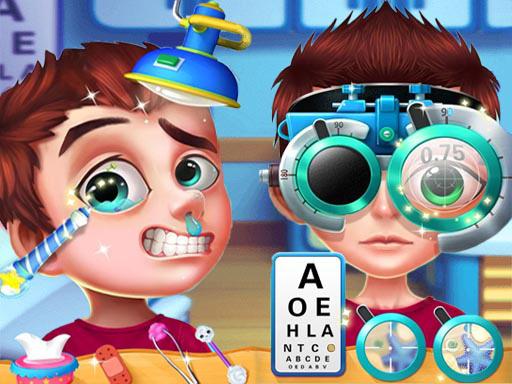 بازی دکتر چشم پزشک