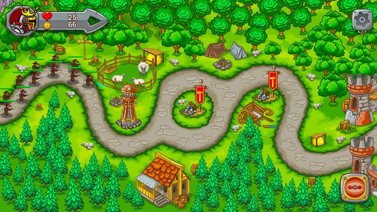 Image بازی دفاع از قلعه پادشاهی