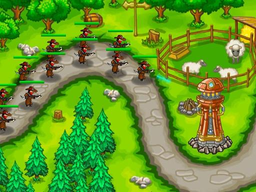 بازی دفاع از قلعه پادشاهی