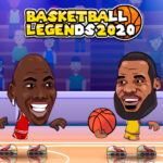 بازی آنلاین بسکتبال Basketball Legends 2020