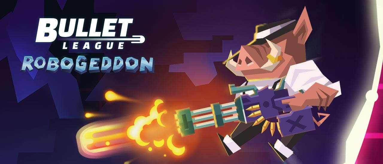 Image بازی آنلاین تفنگی Bullet League Robogeddon