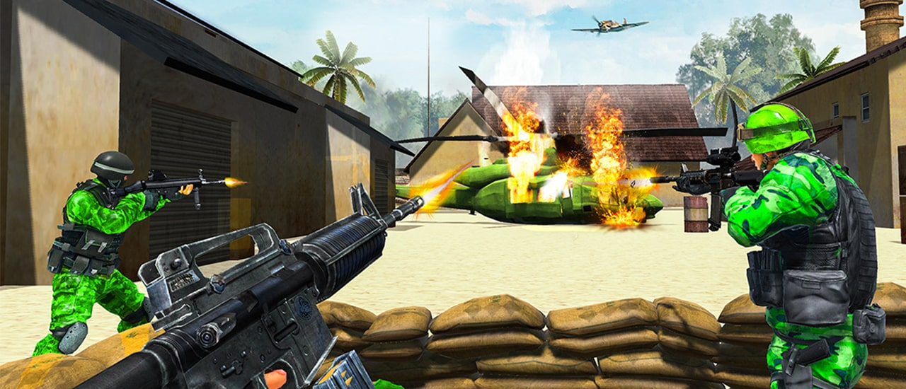 Image بازی آنلاین جنگی کماندو ارتش ایالات متحده