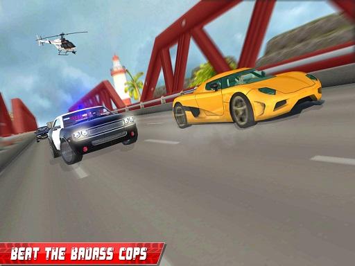 بازی آنلاین مسابقه رانندگی اتومبیلرانی و  پلیس بزرگ راه
