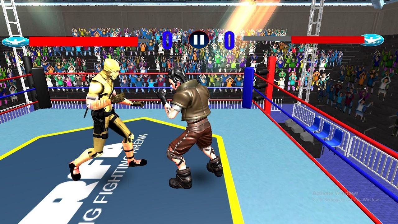 Image بازی ورزشی آنلاین بوکس رینگ مبارزه اندروید