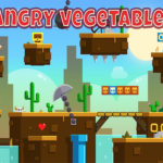 بازی پرتاپی سبزیجات عصبانی
