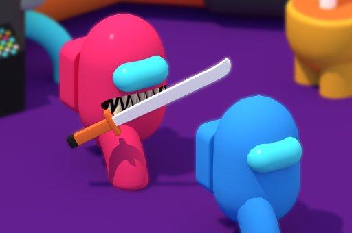 بازی آنلاین سرگرم کننده Red Imposter vs. Crew