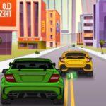 بازی آنلاین مسابقات ماشینی Car Traffic 2D