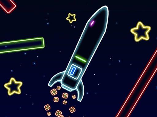بازی آنلاین سرگرم کننده land rocket