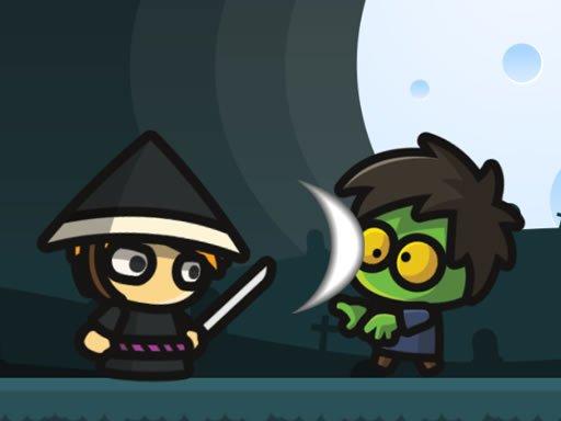 بازی آنلاین فکری Samurai VS Zombies