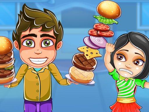 بازی آنلاین آشپزی super burger