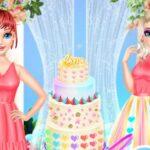 بازی آنلاین دخترانه Wedding Cake Master