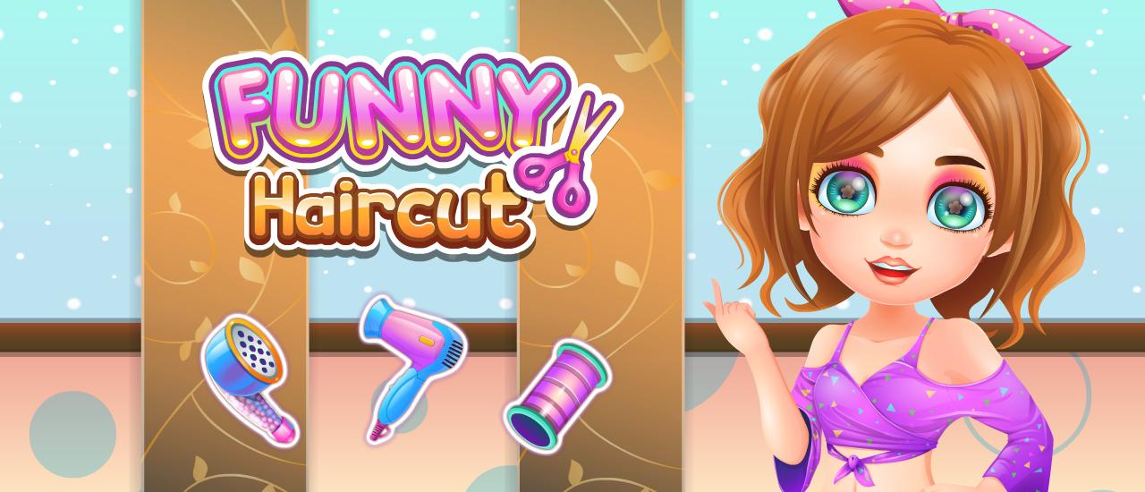 Image بازی دخترانه باحال Funny Haircut
