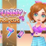 بازی دخترانه باحال Funny Haircut