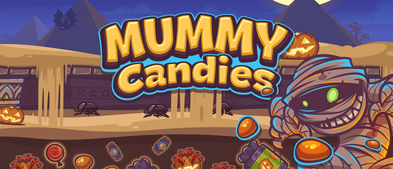 Image بازی آنلاین جدید MUMMY CANDIES