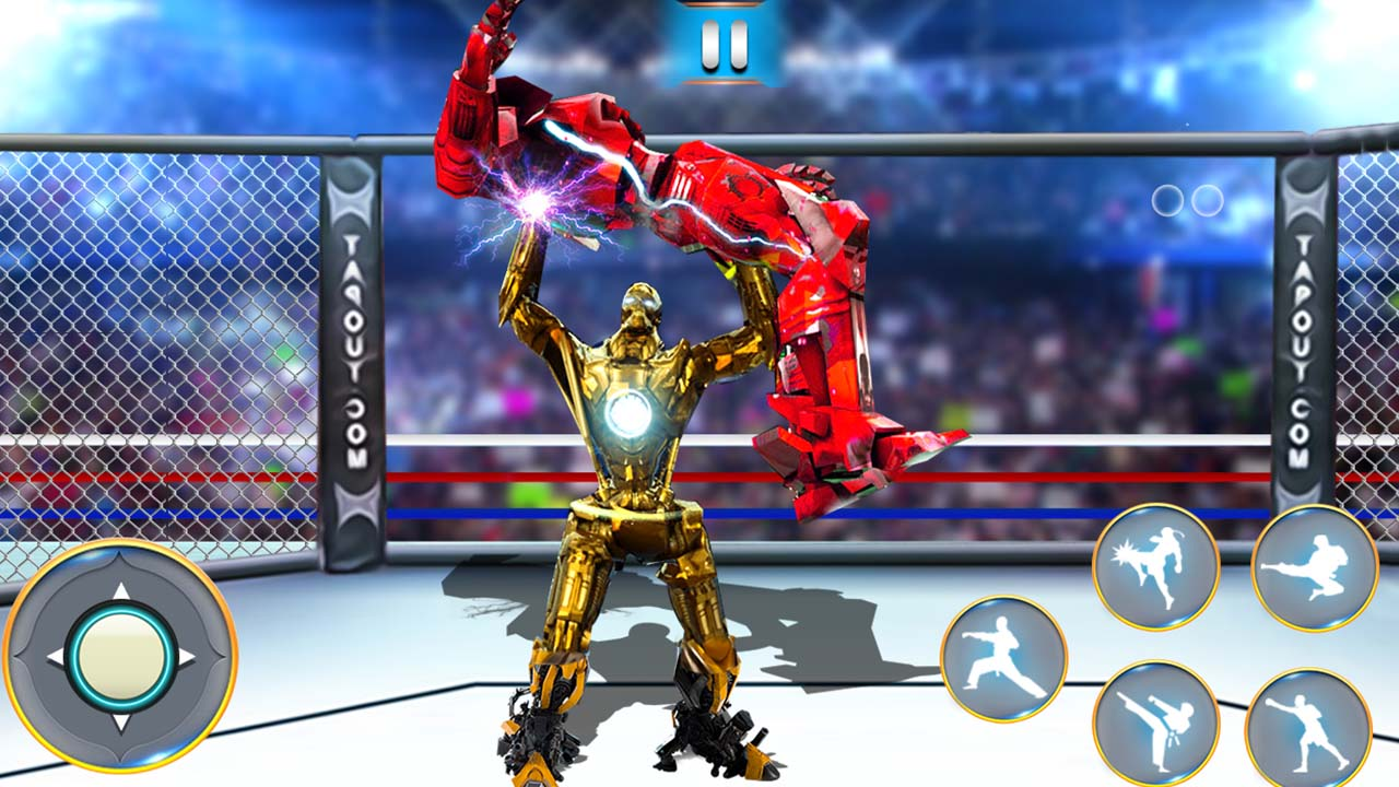 Image بازی ورزشی آنلاین مبارزه ربات ها