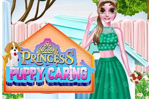 Image بازی مراقبت از توله سگ شاهزاده خانم