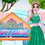 بازی مراقبت از توله سگ شاهزاده خانم