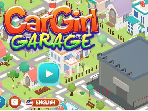 بازی آنلاین مدیریت گاراژ Car Girl Garage