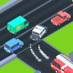 بازی هدایت ماشین ها به بزرگراه