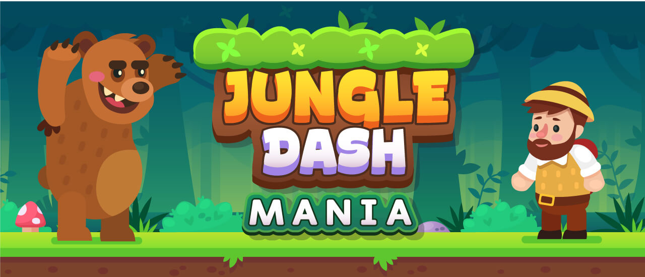 Image بازی آنلاین سرگرم کننده Jungle Dash Mania