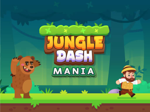 بازی آنلاین سرگرم کننده Jungle Dash Mania