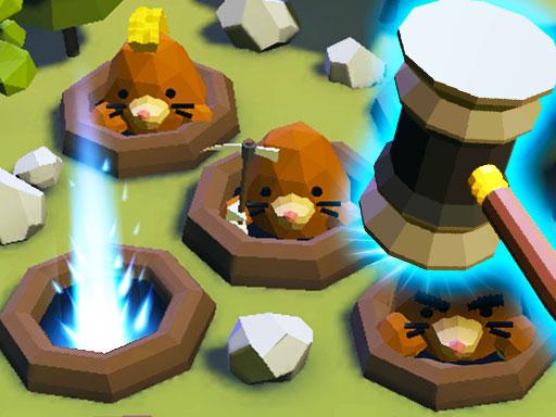بازی سرگرم کننده آنلاین زدن موش کور ها
