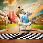 بازی انلاین مسابقات سگ ها