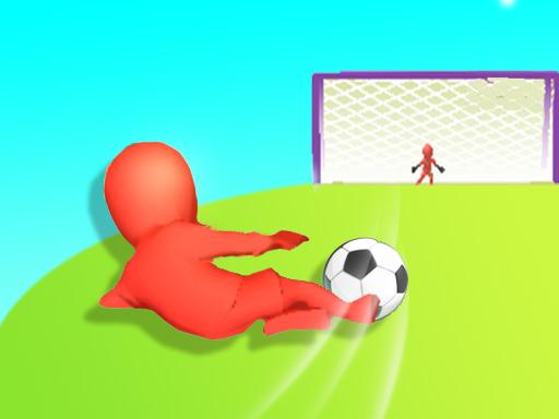 بازی فوتبالی ضربه دیوانه وار