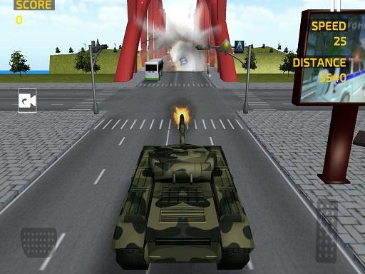 بازی آنلاین رانندگی شبیه سازی تانک سواری
