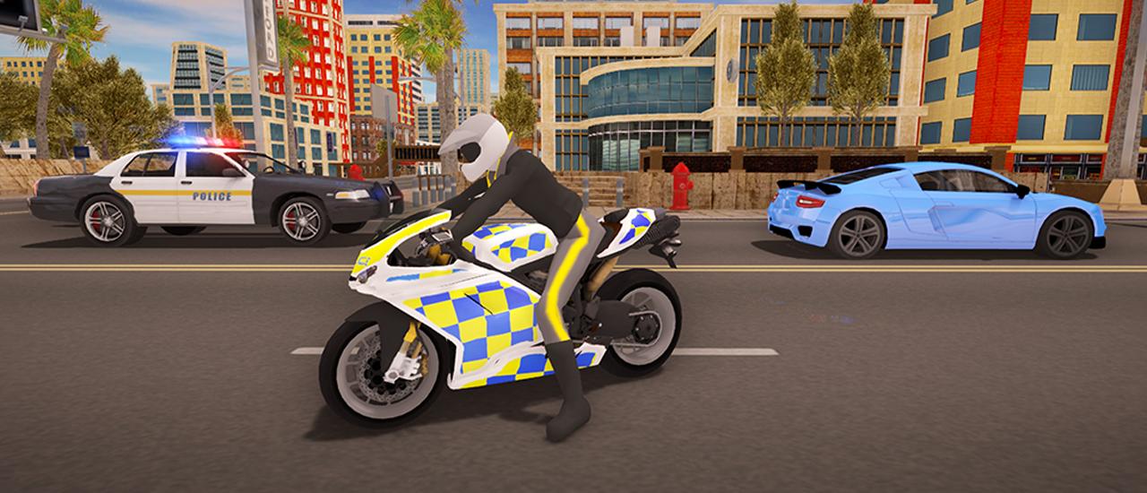 Image بازی جدید موتور سواری Extreme Bike Driving 3D