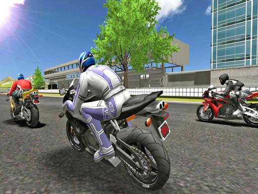 بازی آنلاین موتورسواری MotorBike Racer 3D