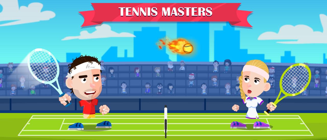 Image بازی آنلاین جدید Tennis Masters