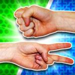بازی سنگ کاغذ قیچی آنلاین