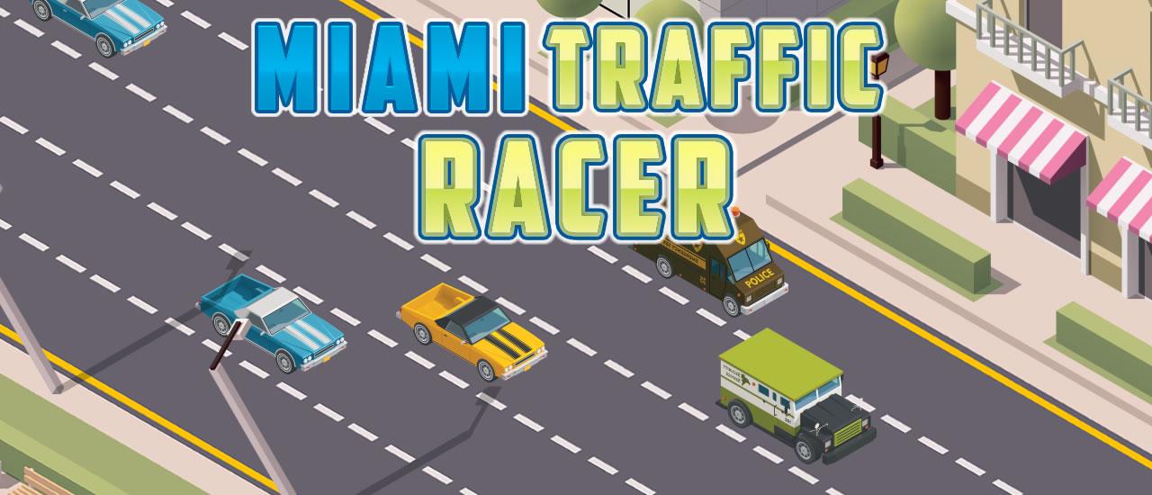 Image بازی رانندگی Miami Traffic Racer