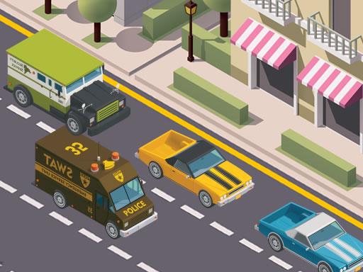 بازی رانندگی Miami Traffic Racer
