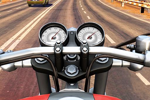 Image بازی آنلاین موتور سواری در جاده
