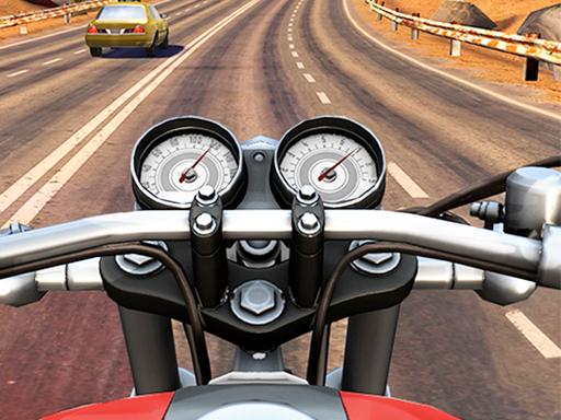 بازی آنلاین موتور سواری در جاده