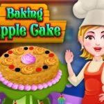 بازی دخترانه پخت کیک سیب