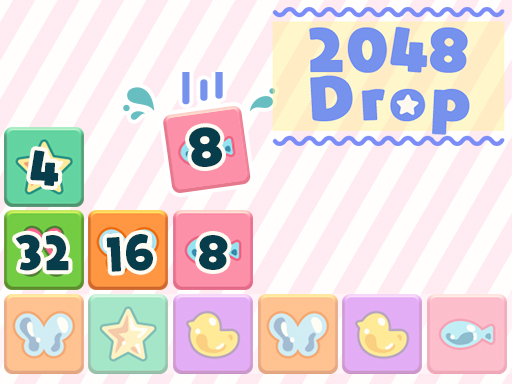 بازی فکری جدید  ۲۰۴۸ Drop
