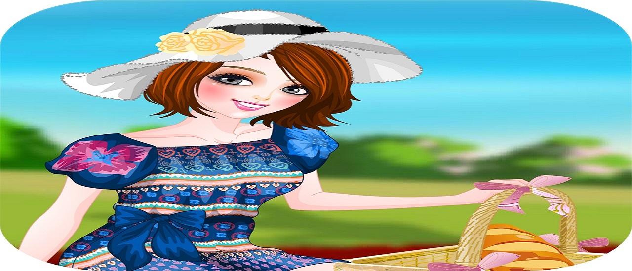 Image بازی آنلاین دخترانه بریم پیک نیک