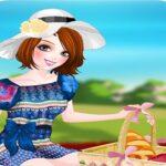 بازی آنلاین دخترانه بریم پیک نیک