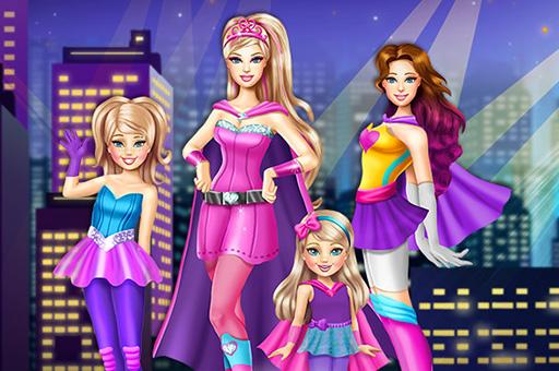 Image بازی آنلاین دخترانه خواهران قهرمان