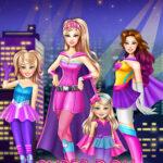 بازی آنلاین دخترانه خواهران قهرمان